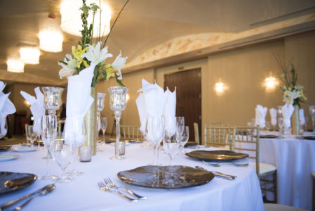 Banquet Hall with table setups 1 angle 4